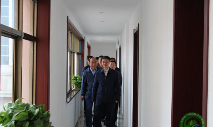 局党委书记王作谊到麦草沟和黑河两个省级自然保护区管理局调研指导工作