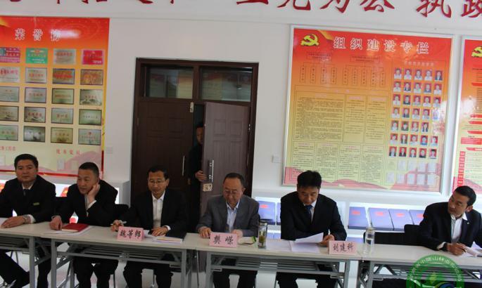 观音林场与甘林职院举行科技协同创新与技术服务合作座谈会
